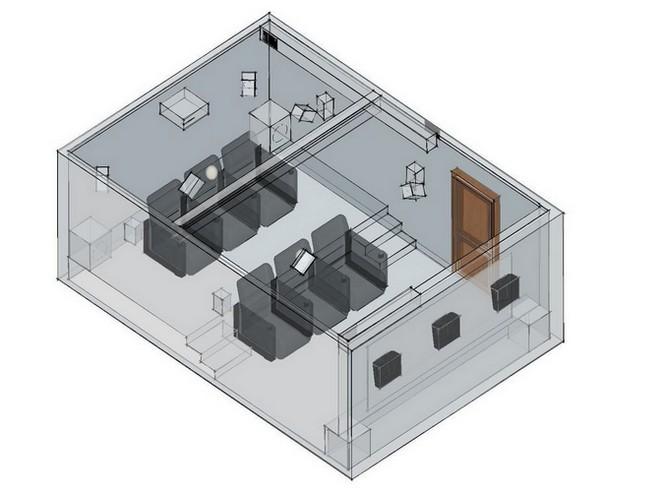 Схематический проект домашнего кинозала